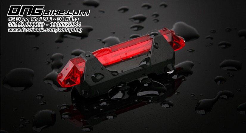 Đèn Hậu Xe Đạp Pin Sạc USB Rapid