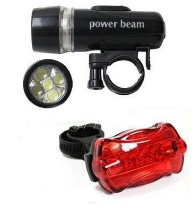 Bộ đèn xe đạp trước sau Power Beam