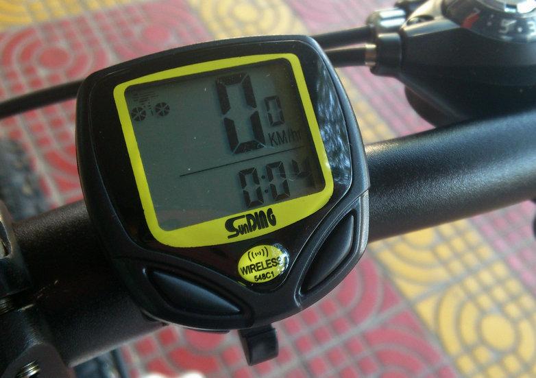 Đồng Hồ Xe Đạp Sunding SD548C Không Dây