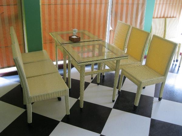 Bàn ghế phòng ăn 0941