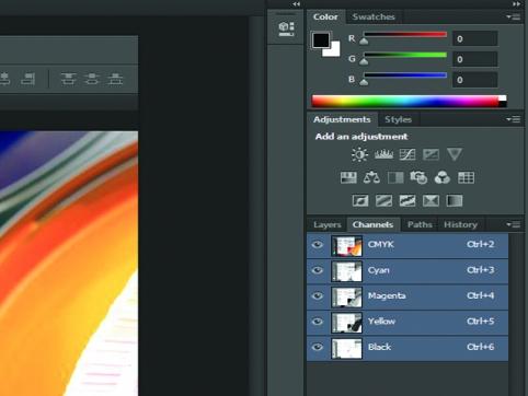 Công nghệ tách màu trong Photoshop