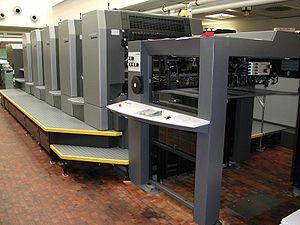 Những bộ phận máy in offset
