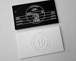Namecard in nổi chuẩn mực