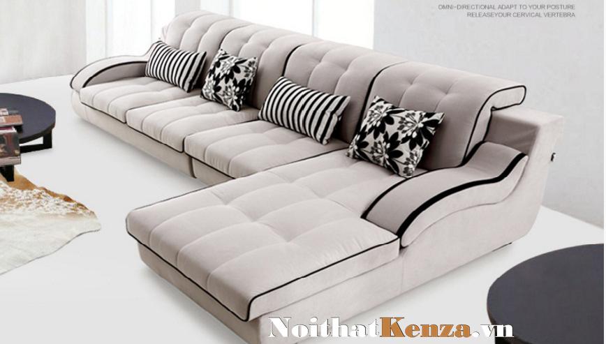 sofa nỉ, sofa kenza