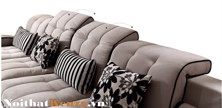 sofa nỉ, sofa đẹp 2015