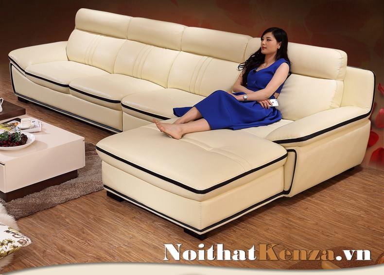 sofa góc chữ L, sofa phòng khách giá rẻ