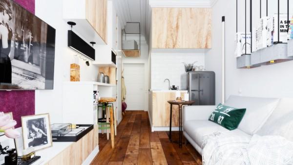 thiết kế đẹp cho căn hộ có diện tích nhỏ