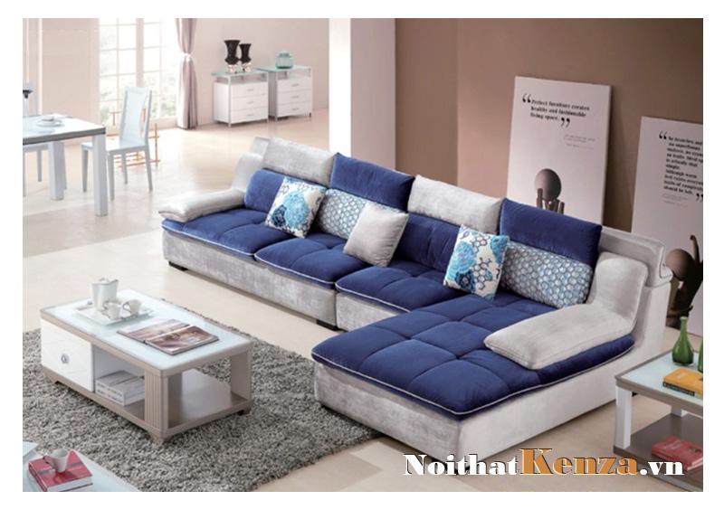 Sofa nỉ phòng khách