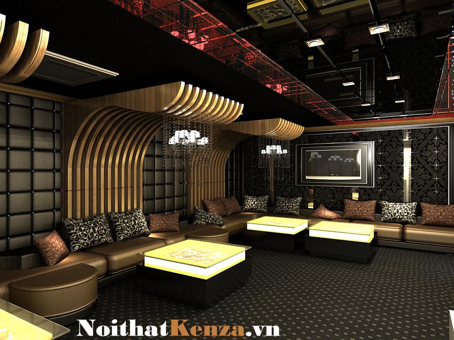 thiết kế phòng hát 2