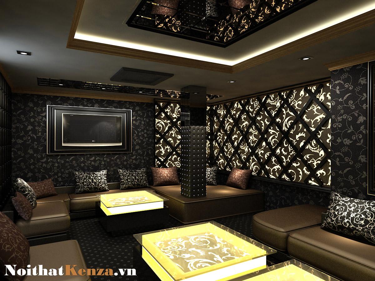 thiết kế phòng hát 3