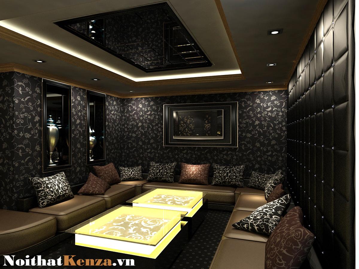 thiết kế phòng hát 4