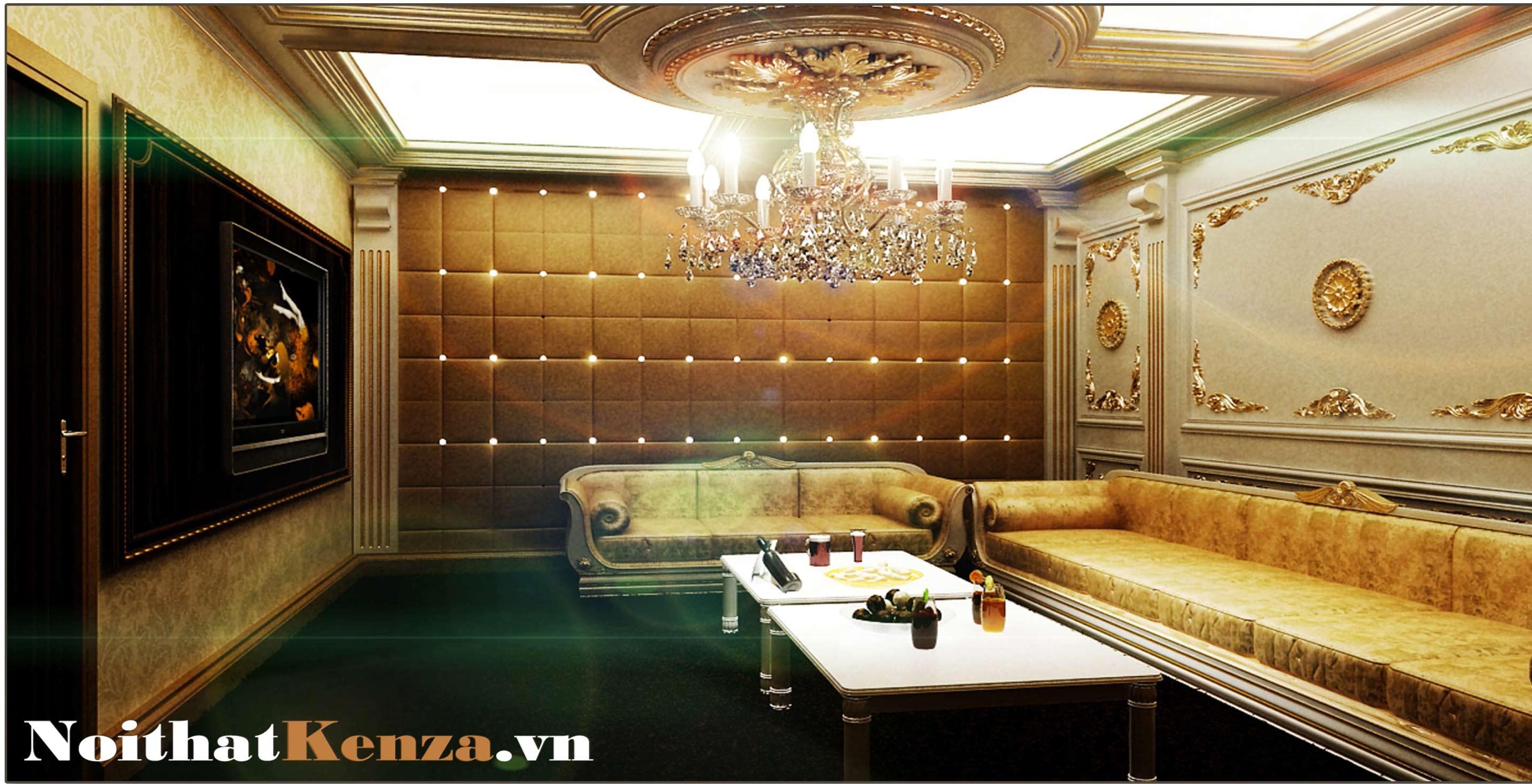 thiết kế phòng hát 22