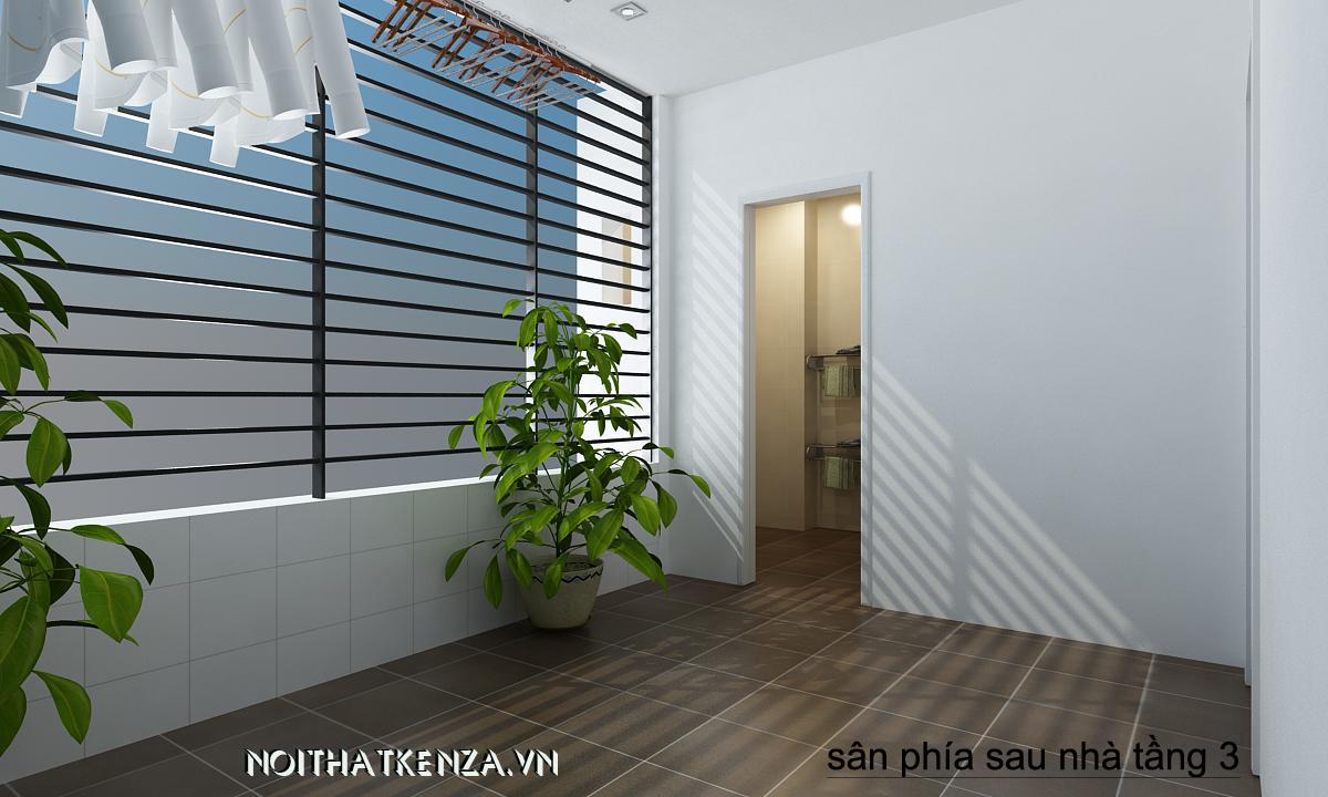thiết kế phòng khách ấn tượng 22