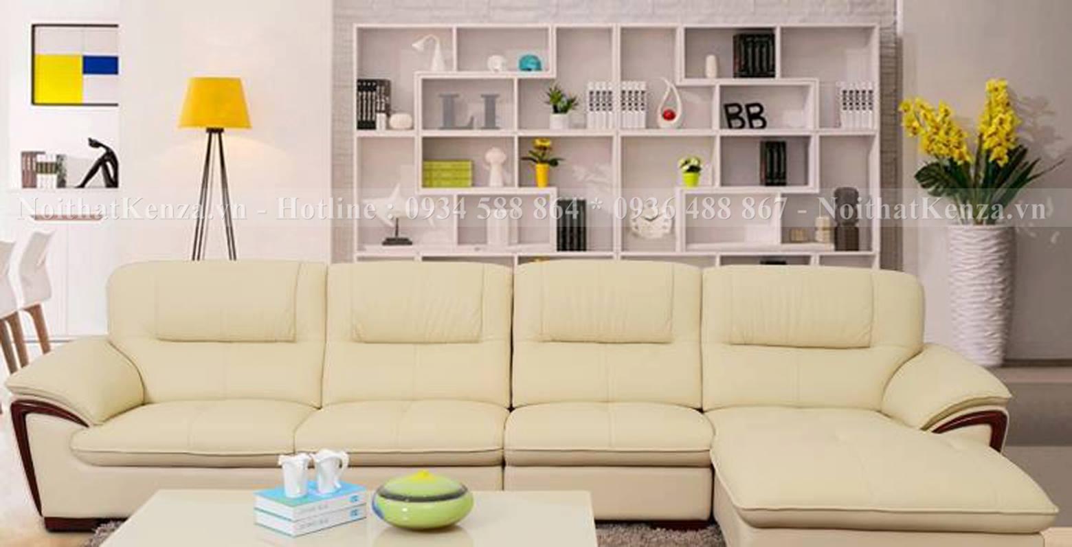 ghế sofa đẹp giá rẻ viền gỗ