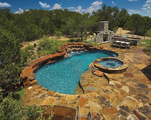 Sàn bể bơi