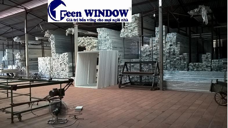 Kho cửa nhựa lõi thép Greenwindow