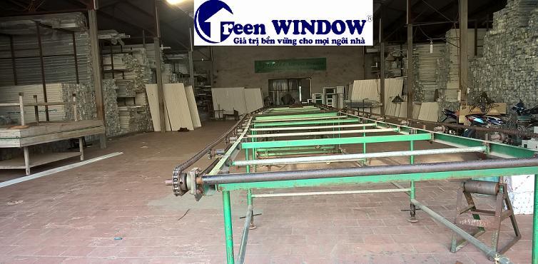 Kho cửa nhựa lõi thép Green window