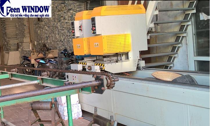 nhà máy cửa nhựa lõi thép Greenwindow
