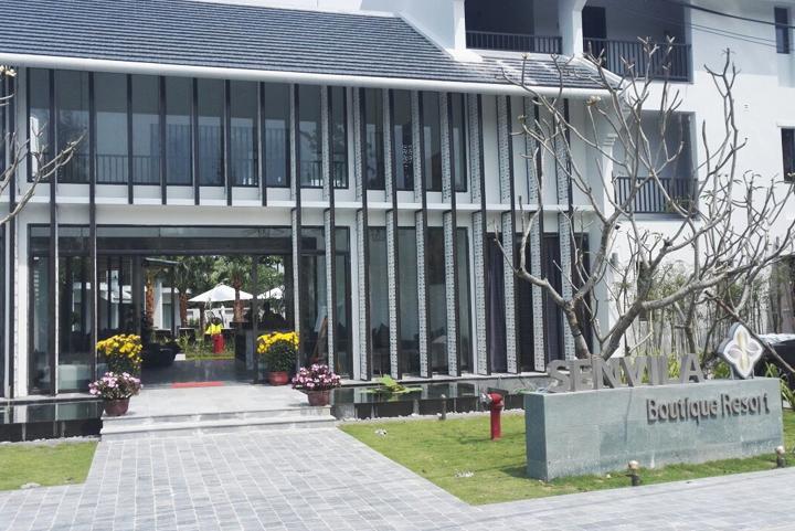 Senvila Boutique Hoi An Resort & Spa chọn Minh Thy Furniture là nhà cung cấp Ghế hồ bơi, bàn ghế giả mây, ghế quầy bar, xích đu