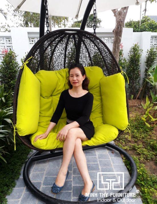 Senvila Boutique Hoi An Resort & Spa chọn Minh Thy Furniture là nhà cung cấp Xích đu