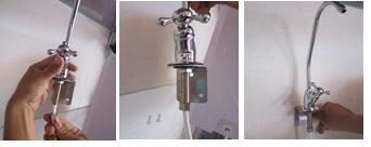 Hướng dẫn lắp đặt máy lọc nước - Bước 4