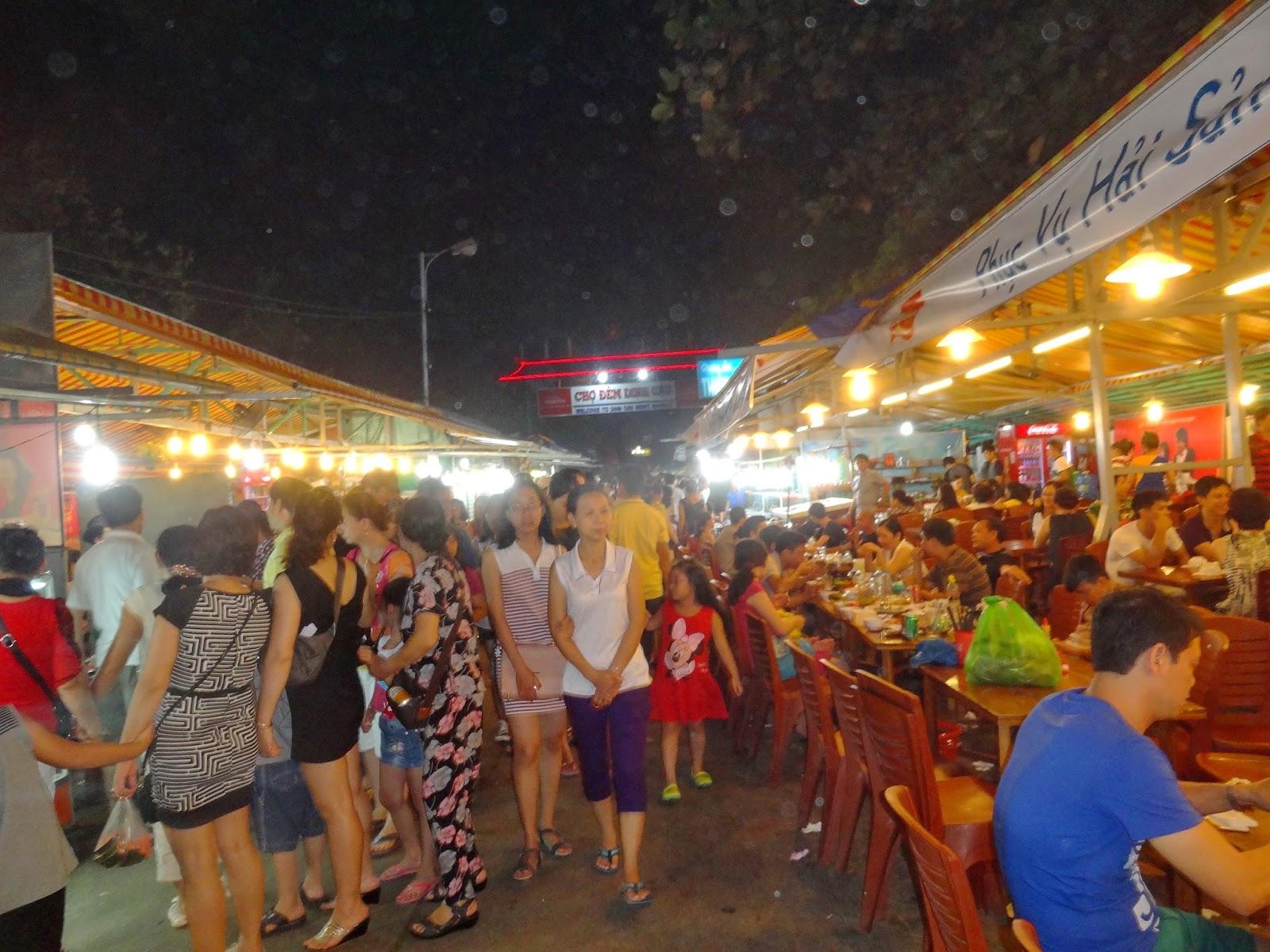 tham quan chợ đêm phú quốc