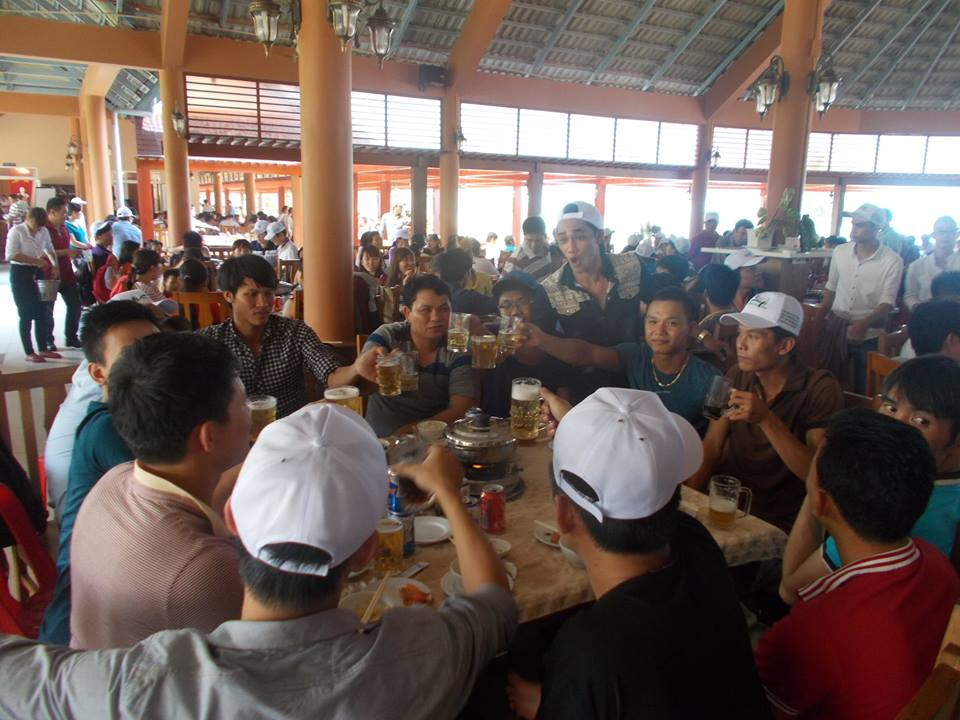 kinh nghiệm xếp ăn uống cho đoàn trên 1000 khách