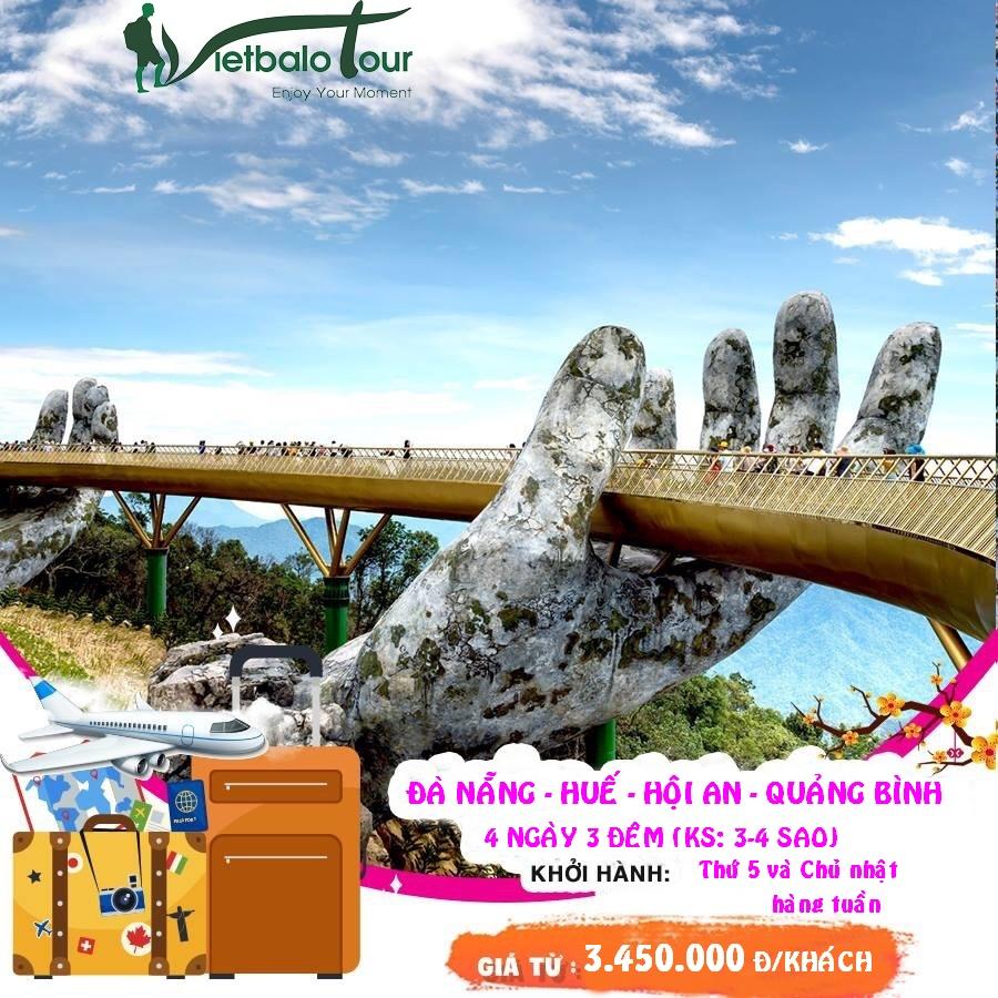 tour du lịch ghép đoàn đà nẵng- huế- hội an- động thiên đường