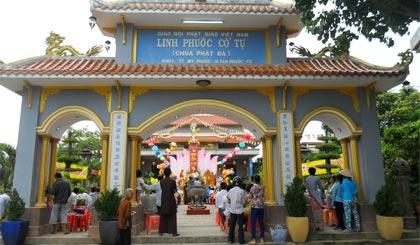chùa phật đá Tân Phước, Tiền Giang