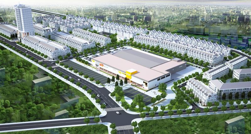 Hình ảnh phối cảnh tổng quan dự án Cityland Garden Hills.