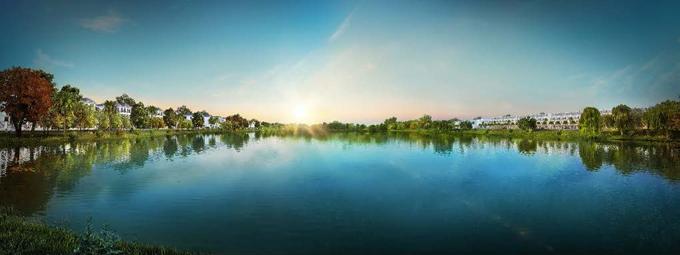 hồ sinh thái Lakeview City