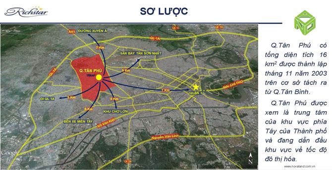 giao thong Quận Tân Phú