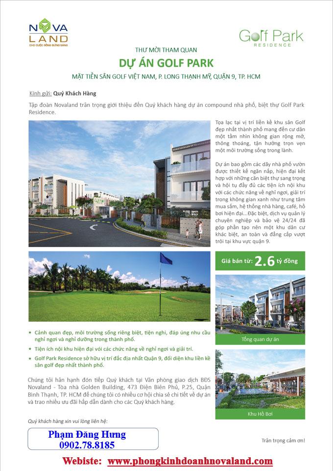golf park novaland