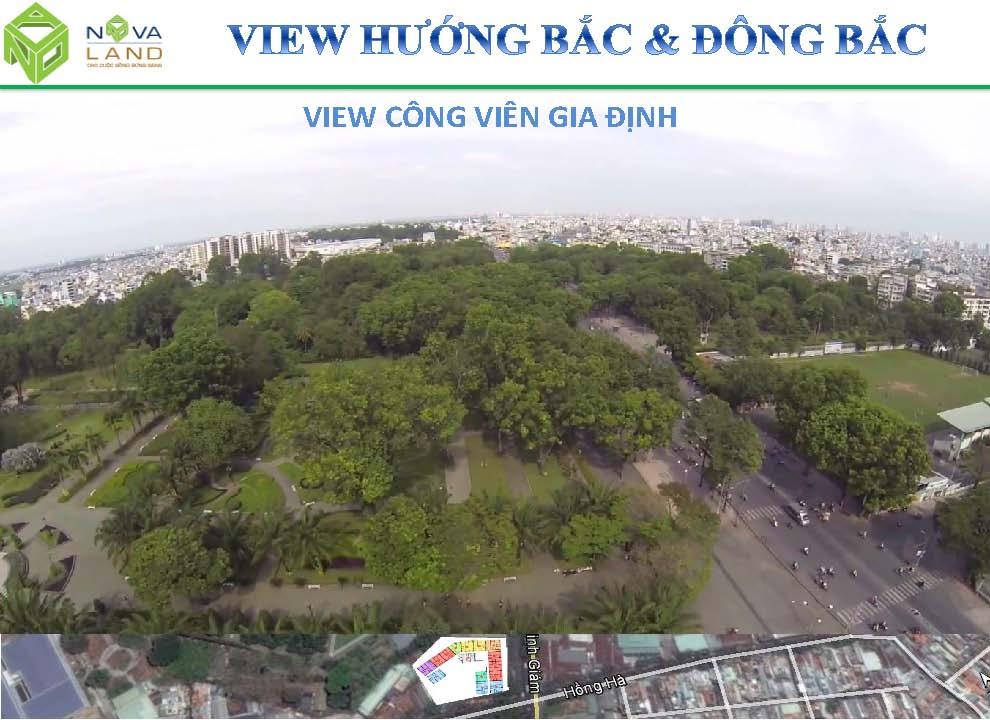 garden gate huong view dong bac