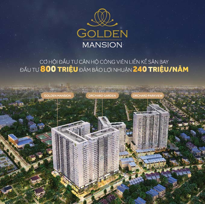 Can ho Golden Mansion