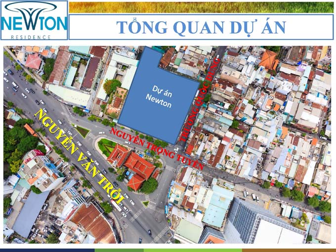 newton-vi tri tong the du an