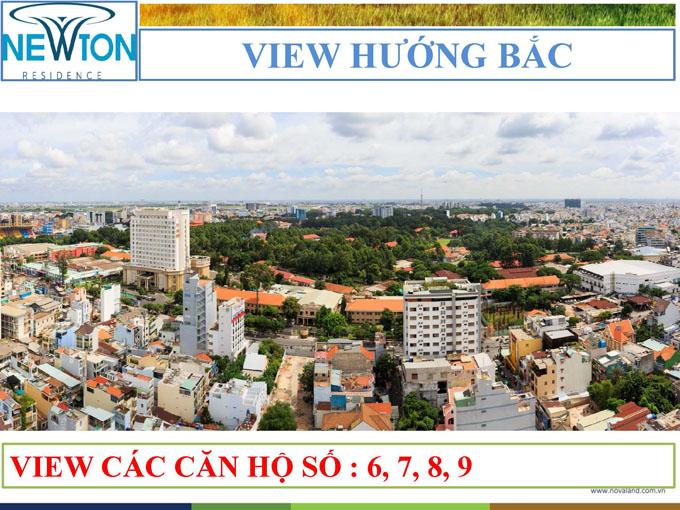 newton view huong bac