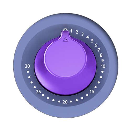 Điều khiển thời gian và nhiệt độ có thể điều chỉnh