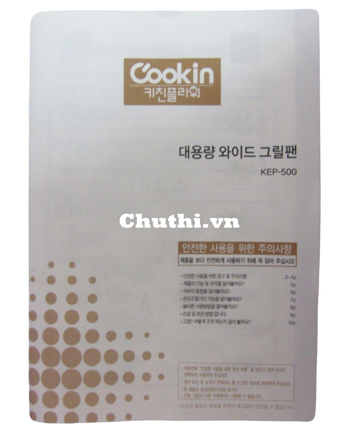 Hướng dẫn sử dụng bằng tiếng Hàn và tiếng Việt