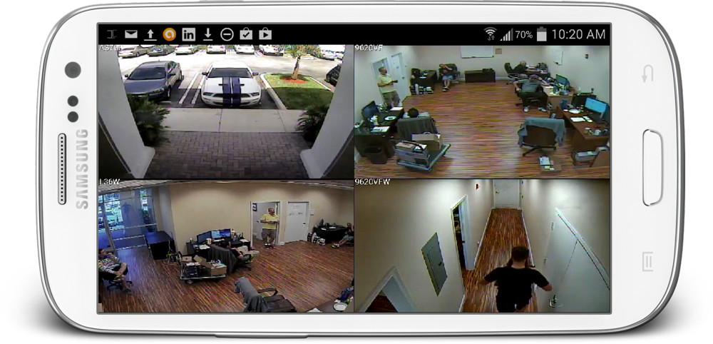 Dễ dàng theo dõi camera quan sát với điện thoại smart phone