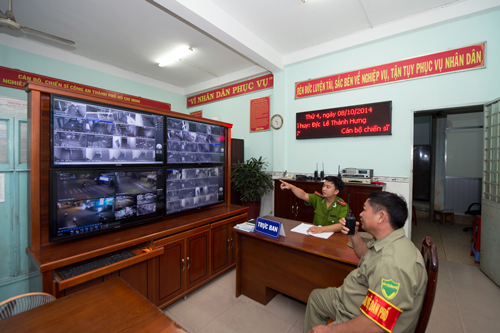 Lắp đặt camera quan sát cải thiện tình hình an ninh hơn rất nhiều