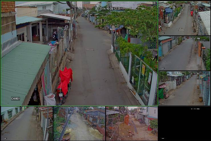 Lắp đặt camera IP, Analog, AHD tại Quận Bình Tân
