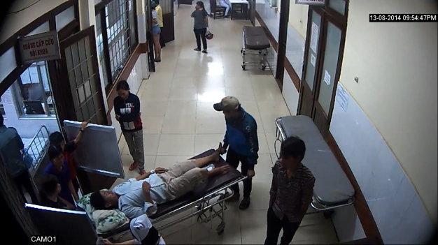lắp đặt camera quan sát ở bệnh viện