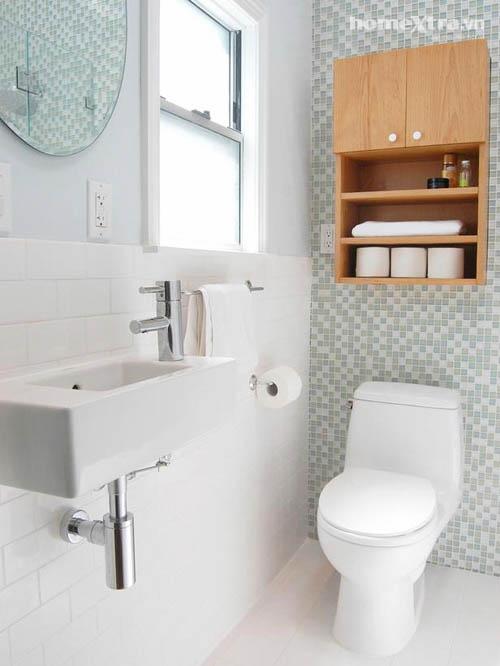 Nhét bồn tắm 'vừa khít' toilet chỉ 3m2 - 2