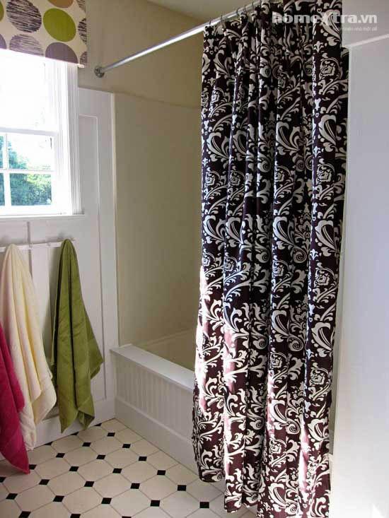 Phòng tắm đơn điệu trở nên đẹp rạng ngời sau cải tạo 10