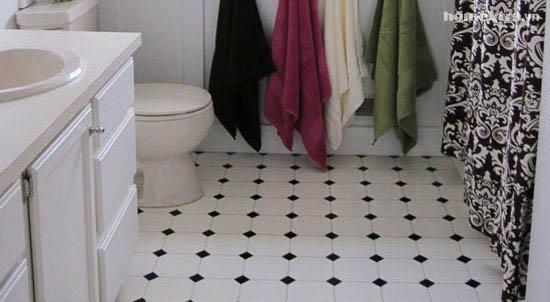 Phòng tắm đơn điệu trở nên đẹp rạng ngời sau cải tạo 17
