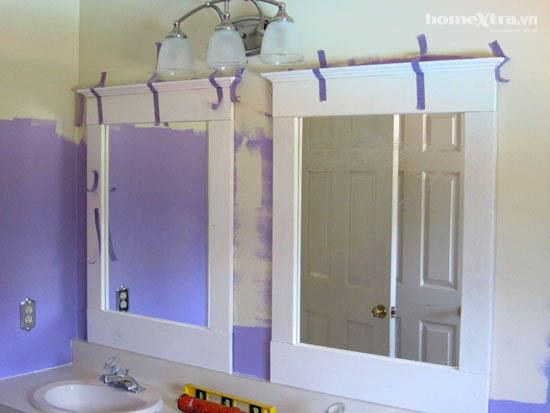 Phòng tắm đơn điệu trở nên đẹp rạng ngời sau cải tạo 6