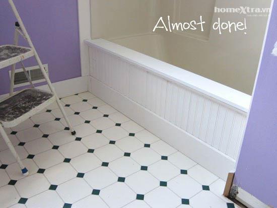 Phòng tắm đơn điệu trở nên đẹp rạng ngời sau cải tạo 9