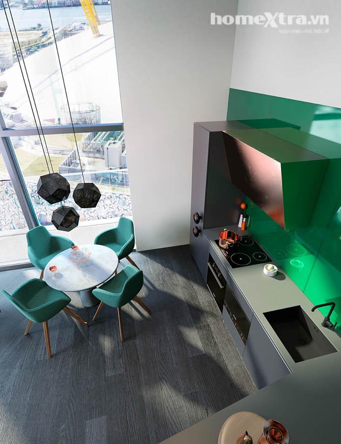 Thiết kế cho tòa nhà phủ kính đầy ấn tượng homextra.vn