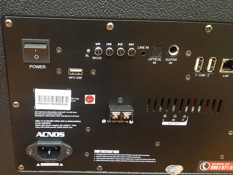Loa kéo di động Acnos KBeatBox KSNET550